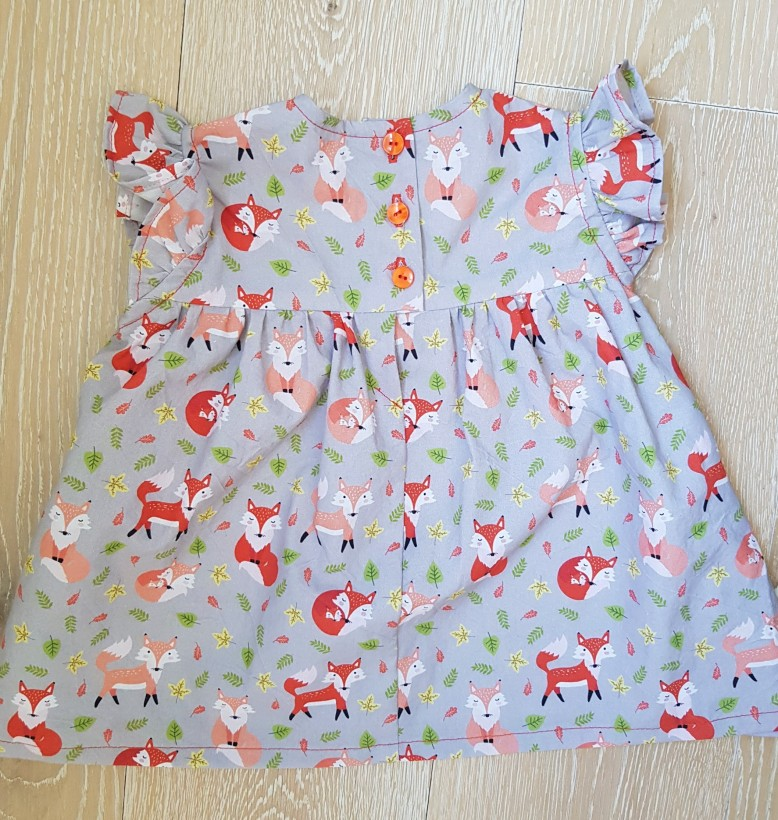 Cute Fox Scandi Dribble Bib  Bandana Bibs for Girl//Boy 100/% Cotton Uk Seller