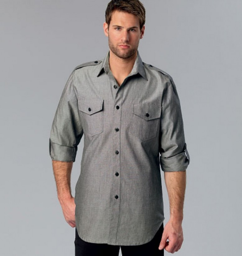 1859236e I really like Kwik Sew mens fit patterns as they feature classic lines,  with subtle style touches, in larger sizes (up to 50 - 52