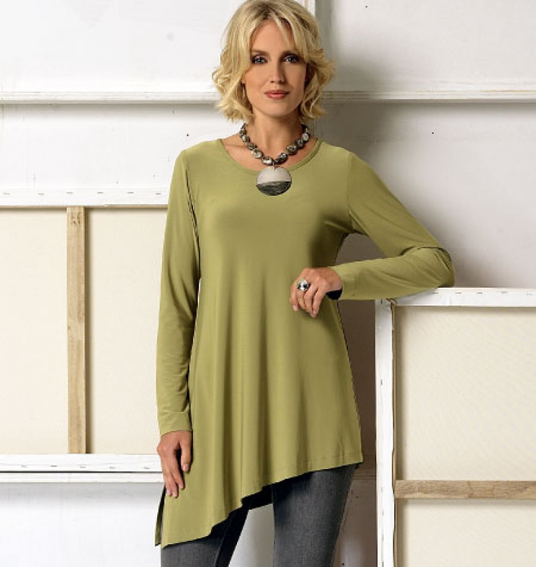 Pattern Of The Week Vogue 9057 Stretch Knit Tops In 5 Styles