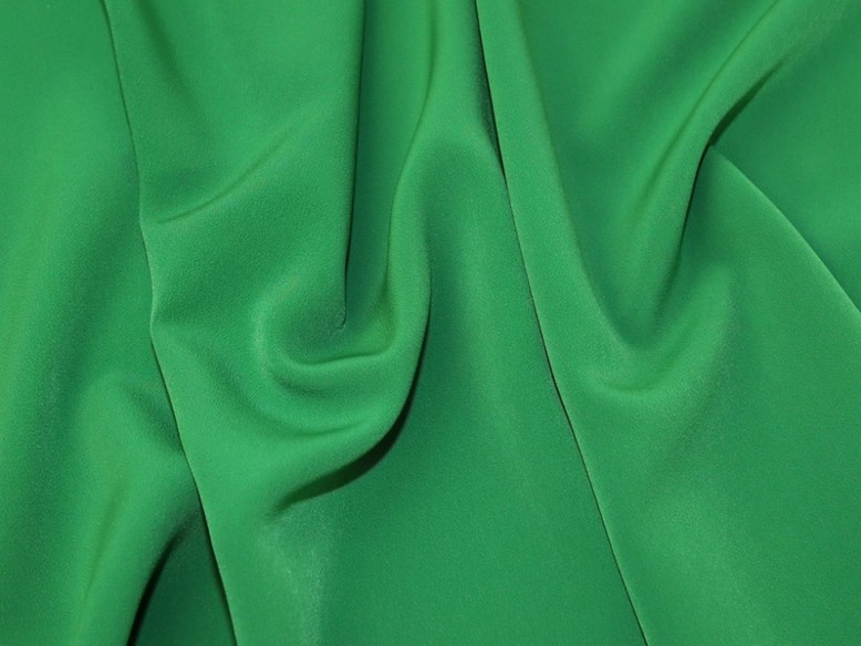 EMERALD GREEN SHINY TAFFETA FABRIC 150CM WIDE P//MTR
