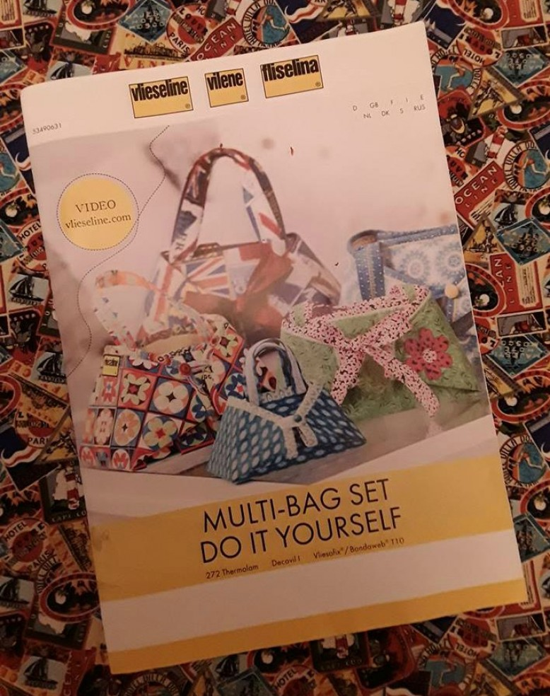 Vilene multi bag kit product review by diane product reviews the packaging says multi bag kit and shows 3 different sizes on the cover photograph which does give the impression there is more than one item to make solutioingenieria Choice Image