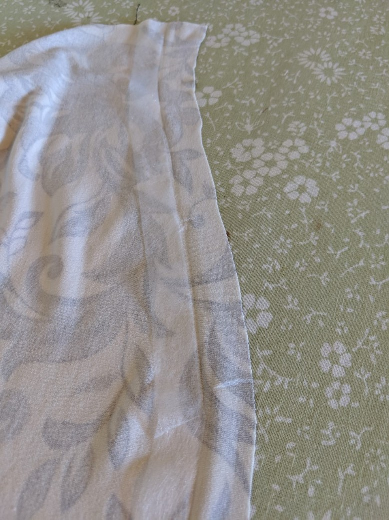 Weight 3 Yards x 45 Water Mark Damage Off White Woven Weft Fusible Interfacing Med