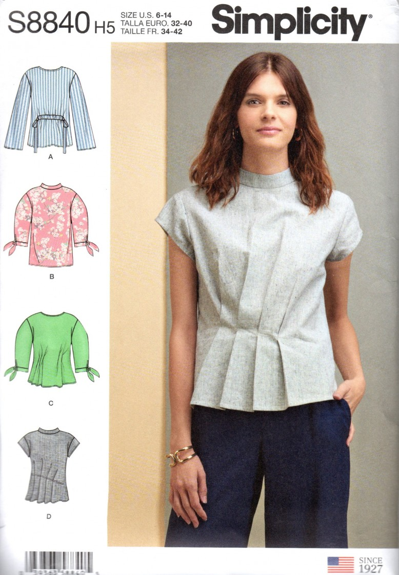 823d963cf3bd I used Simplicity pattern (#s8840). I kept seeing this pattern allover  Instagram and finally decided to give it a try. Here are my notes on this  pattern:
