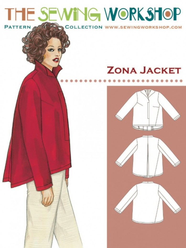 The Zona Jacket by The Sewing Workshop | Blogger Network | Minerva