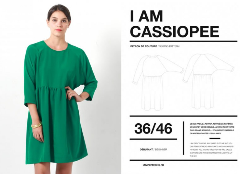 I AM Patterns \'Cassiopee\' Dress | Blogger Network | Minerva Crafts