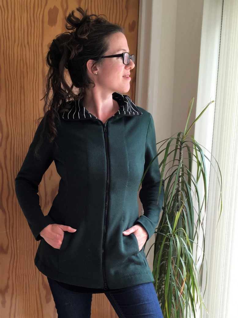 The Hoodless Hoodie | Blogger Network | Minerva Crafts